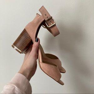 ASOS gold trim heels